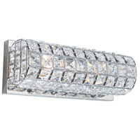 Sterling 2 Light 4 inch Chrome Wall Sconce Wall Light