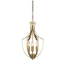 Artcraft Lighting Newport 3 Light Chandelier in Satin Brass AC10203SB