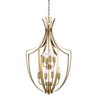 Artcraft Lighting Newport 8 Light Chandelier in Satin Brass AC10208SB