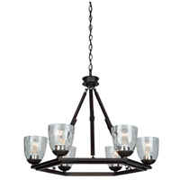Artcraft Lighting Kent 6 Light Chandelier in Oil Rubbed Bronze AC10226OB