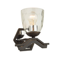 Kent 1 Light 9 inch Oil Rubbed Bronze Wall Bracket Wall Light