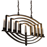 Perceptions 9 Light 2 inch Oil Rubbed Bronze Chandelier Ceiling Light