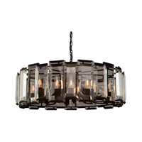 Artcraft Lighting Palisades 12 Light Chandelier in Matte Black AC10262