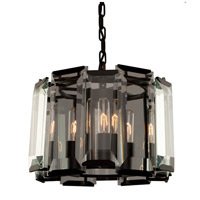 Artcraft AC10263 Palisades 3 Light 15 inch Matt Black Pendant Ceiling Light