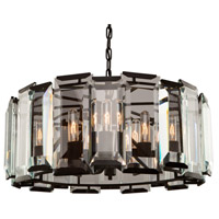 Palisades 9 Light 25 inch Matt Black Chandelier Ceiling Light
