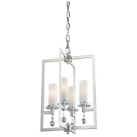 Melbourne 4 Light 17 inch Brushed Nickel Chandelier Ceiling Light