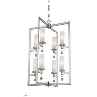 Melbourne 8 Light 21 inch Brushed Nickel Chandelier Ceiling Light