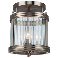 Artcraft Lighting Bankroft 3 Light Semi Flush in Brushed Nickel AC10281