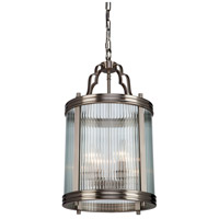 Bankroft 4 Light 13 inch Satin Nickel Pendant Ceiling Light