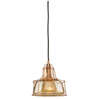 Artcraft AC10291RG Fifth Avenue 1 Light 7 inch Rose Gold Pendant Ceiling Light