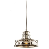 Fifth Avenue 1 Light 8 inch Chrome Pendant Ceiling Light