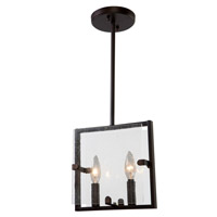 Artcraft AC10300OB Harbor Point 2 Light 3 inch Oil Rubbed Bronze Pendant Ceiling Light