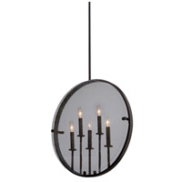 Artcraft AC10301OB Harbor Point 5 Light 4 inch Oil Rubbed Bronze Pendant Ceiling Light
