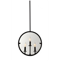 Artcraft AC10303OB Harbor Point 3 Light 4 inch Oil Rubbed Bronze Pendant Ceiling Light