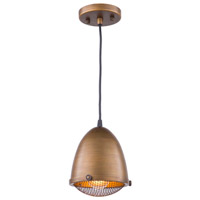 Artcraft AC10310 Retro Loft 1 Light 7 inch Bronze Pendant Ceiling Light