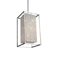 Artcraft Lighting Vega 10 Light Chandelier in Stainless Steel AC10320