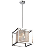 Vega 4 Light 13 inch Chrome Chandelier Ceiling Light