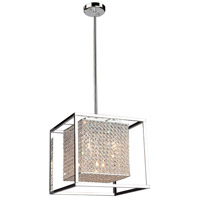 Vega 5 Light 16 inch Chrome Chandelier Ceiling Light