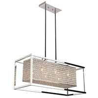 Artcraft Lighting Vega 6 Light Chandelier in Stainless Steel AC10326