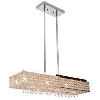 Artcraft Lighting Bella Vista 12 Light Chandelier in Stainless Steel AC10342