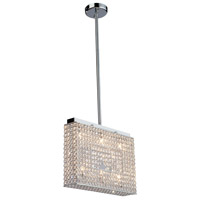 Artcraft Lighting Bella Vista 6 Light Pendant in Stainless Steel AC10346