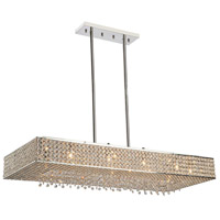 Artcraft Lighting Bella Vista 8 Light Chandelier in Stainless Steel AC10347