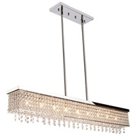 ARTCRAFT Bella Vista 9 Light Chandelier in Stainless Steel AC10349
