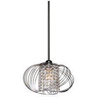 Artcraft Lighting Anastasia 1 Light Single Pendant in Chrome AC10350