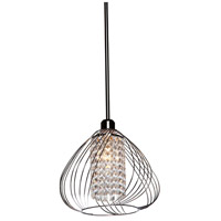 Artcraft Lighting Anastasia 1 Light Single Pendant in Chrome AC10351