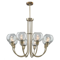 Artcraft Lighting Veranda 8 Light Chandelier in Burnished Bronze AC10368