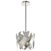 ARTCRAFT Fifth Avenue 2 Light Pendant in Brushed Nickel AC10370BN