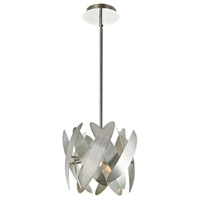 5th Avenue 2 Light 10 inch Brushed Nickel Pendant Ceiling Light