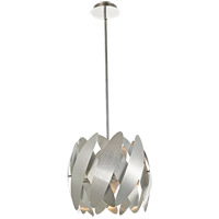 5th Avenue 4 Light 16 inch Brushed Nickel Pendant Ceiling Light