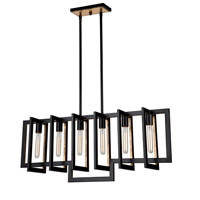 Capetown 6 Light 39 inch Oil Rubbed Bronze Island Light Ceiling Light
