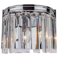 El Dorado 2 Light 9 inch Chrome Wall Bracket Wall Light