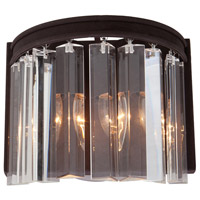 El Dorado 2 Light 9 inch Java Brown Wall Bracket Wall Light