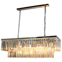 El Dorado 13 Light 40 inch Chrome Island Light Ceiling Light