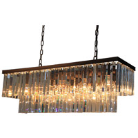 El Dorado 13 Light 40 inch Java Brown Island Light Ceiling Light