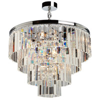 El Dorado 9 Light 24 inch Chrome Chandelier Ceiling Light