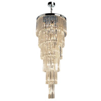 El Dorado 17 Light 24 inch Chrome Chandelier Ceiling Light