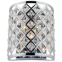 Lattice 1 Light 7 inch Chrome Wall Bracket Wall Light