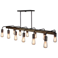 Lynwood 12 Light 44 inch Brunito Bronze Island Light Ceiling Light