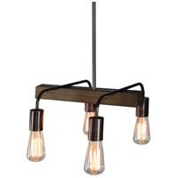 Artcraft Lighting Jasper Park 4 Light Island Light in Bronze AC10454BU