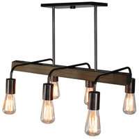 Lynwood 6 Light 24 inch Brunito Bronze Island Light Ceiling Light