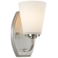 Hudson 1 Light 5 inch Brushed Nickel Wall Bracket Wall Light