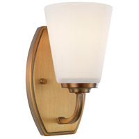 Hudson 1 Light 5 inch Vintage Brass Wall Bracket Wall Light