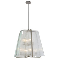 La Traviata 8 Light 22 inch Brushed Nickel Pendant Ceiling Light