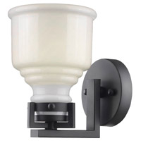 ARTCRAFT Franklin 1 Light Wall Bracket in Black AC10501BK