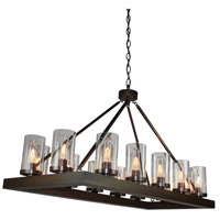 Jasper Park 14 Light 44 inch Brunito Bronze Island Light Ceiling Light