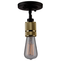 ARTCRAFT Jersey 1 Light Pendant in Vintage Brass AC10571VB